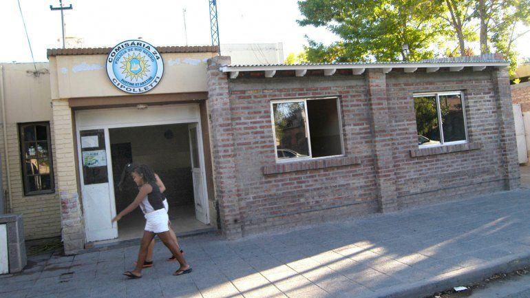 El acusado quedó detenido en la Comisaría 24 del barrio Don Bosco.