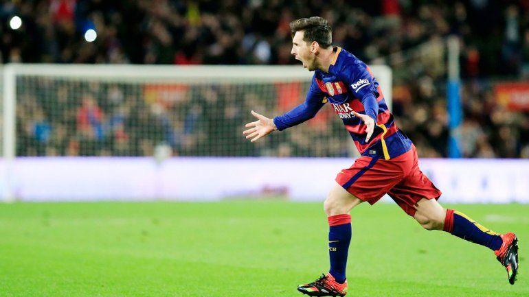 Lionel tuvo un partido fantástico en el clásico catalán.