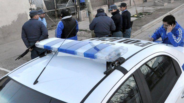 Detuvieron a cinco motochorros en el barrio Confluencia
