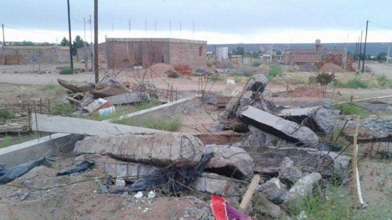Una vecina de Rincón denunció que el Municipio le demolió la obra.