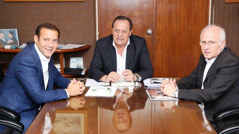 Gutiérrez y Brillo se reunieron con el ministro de Turismo de la Nación.