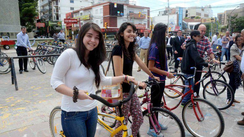 El Municipio ya entregó bicis en oportunidades anteriores.