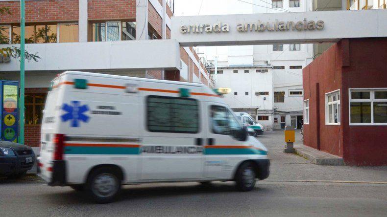La pequeña quedó internada en el hospital Castro Rendón.