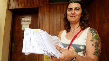 Adela denunció ayer el hecho en la Defensoría del Pueblo.