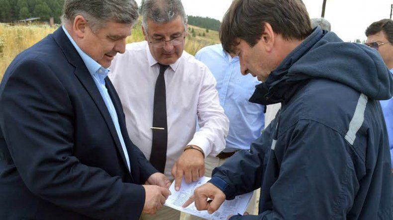 El ministro Alejandro Nicola está de gira por el interior de la provincia.