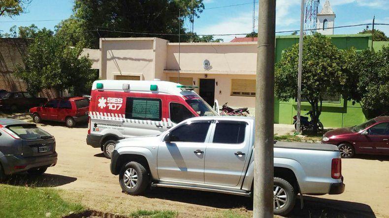 La comisaría del pueblo donde fue detenido Lanatta vivió horas de convulsión. Luego lo llevaron a Buenos Aires.