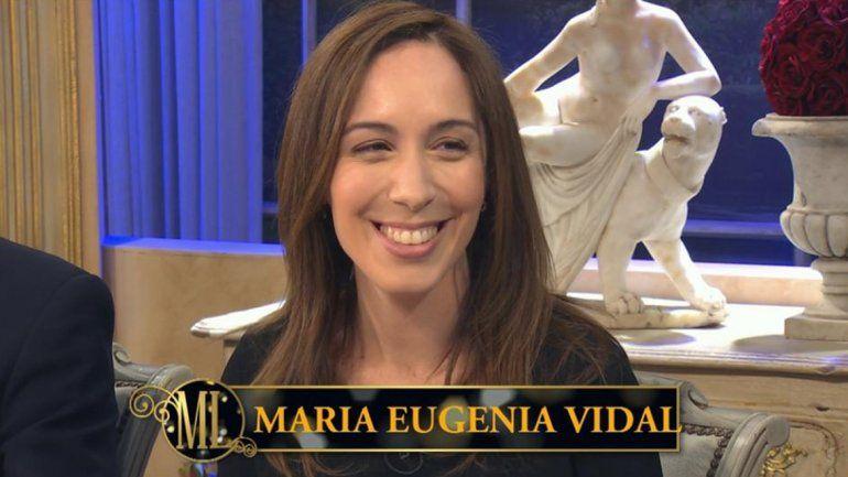 Vidal habló sobre el fallido con Mirtha