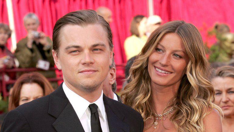 Su noviazgo con la brasileña Gisele Bündchen fue una de las relaciones más duraderas de Leonardo.