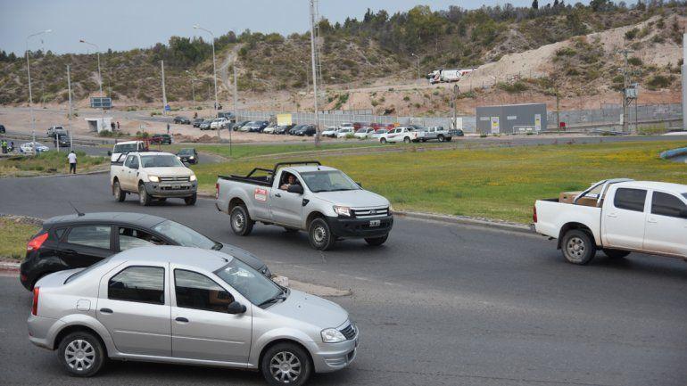La rotonda de Doctor Ramón y Ruta 7 es una de las más transitadas y peligrosas de la ciudad .