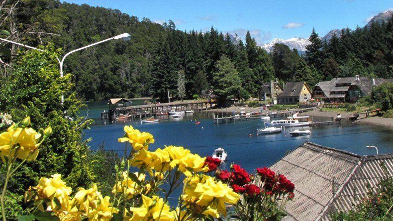 Los lagos del sur de la provincia