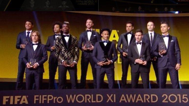 Así es el equipo ideal según la FIFA