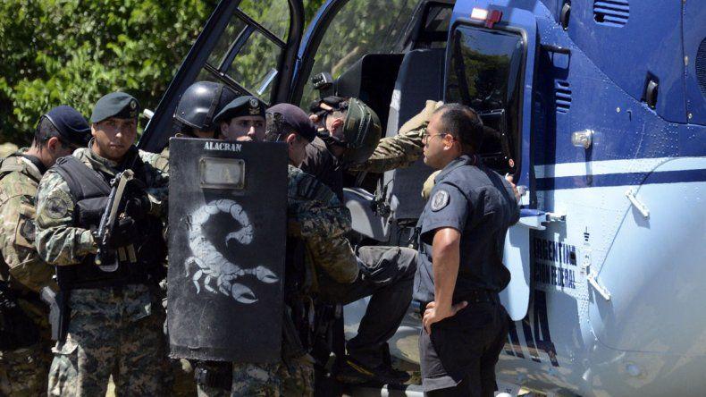 Trasladan a los dos detenidos a Comodoro Py