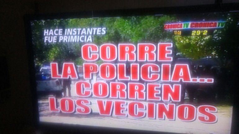Crónica TV jugó con la complicidad y el humor de la audiencia con sus desopilantes zócalos informativos.
