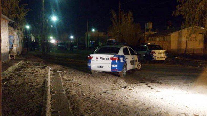 La Policía trabajó en la casa de las víctimas