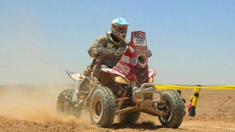 Copetti ayer finalizó sexto.