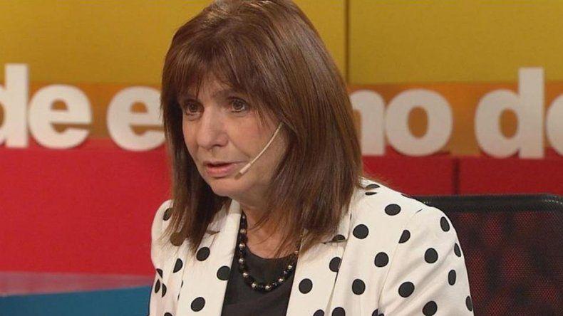 Patricia Bullrich: El que quiera andar armado, que ande