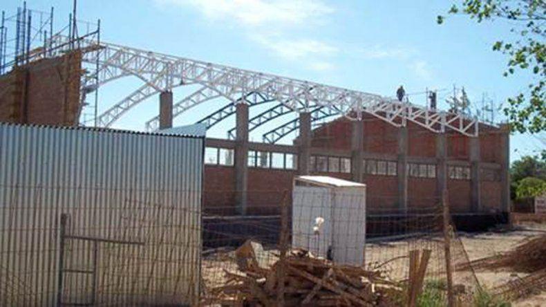 Avanza la construcción de un SUM para el CPEM 44