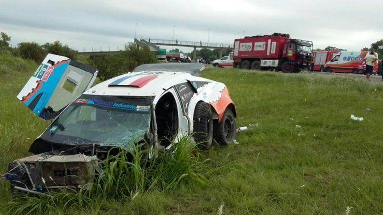 En cuatro días, el mismo coche del Dakar estuvo involucrado en dos accidentes fatales