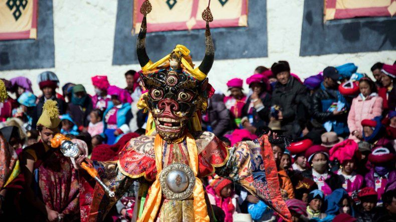 Monjes budistas chinos