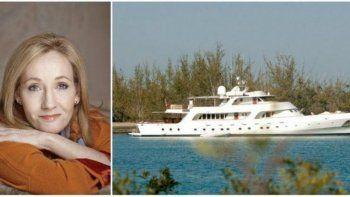 A J.K. Rowling, la embarcación le costó 30 millones de euros.