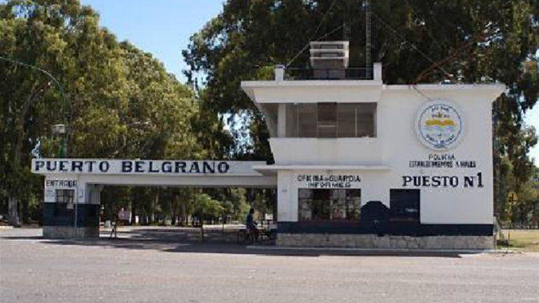 El policía trabajaba en la sede de la base naval de Punta Alta.
