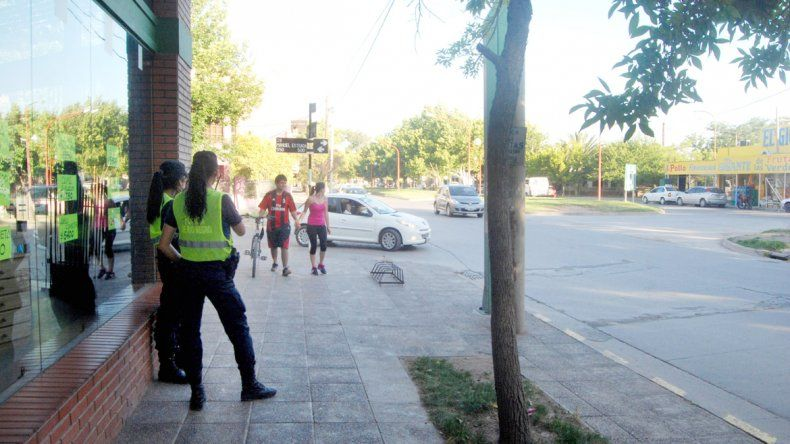Los delincuentes actuaron dos veces en la zona de la calle Alem.