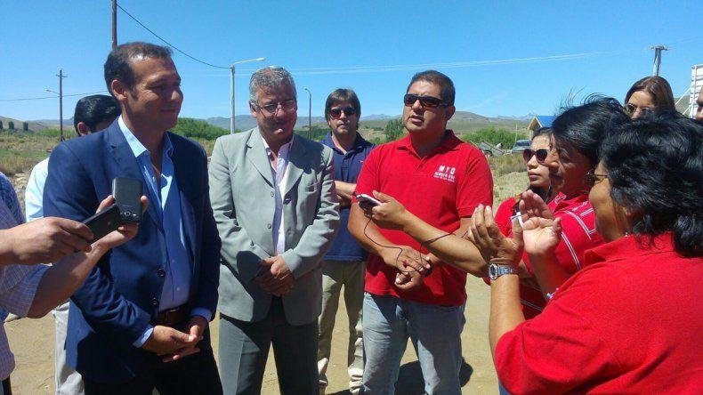 Gutiérrez supervisa el avance de obras en Junín de los Andes