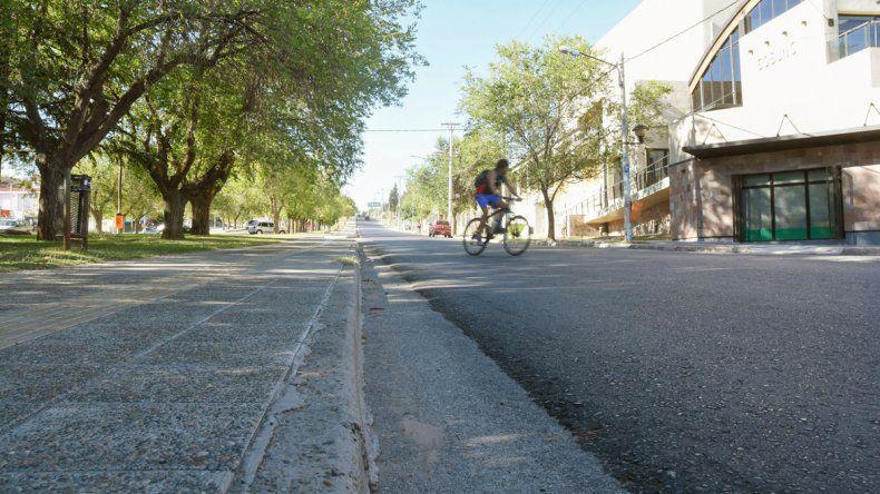 La caída del joven fue en Avenida Argentina pasando Leloir