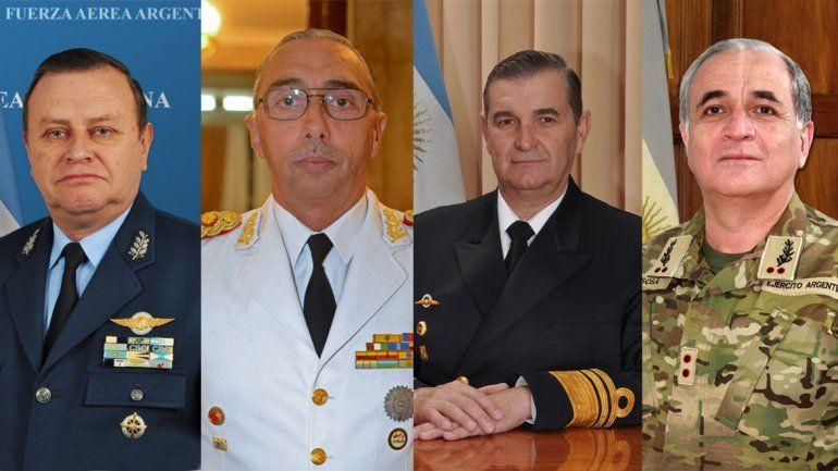 El gobierno desginó la nueva cúpula de las Fuerzas Armadas