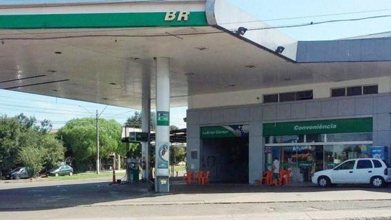 La estación de servicio donde el turista argentino paró a cargar combustible en la localidad de Passo Fundo.