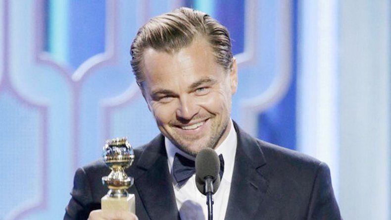 Mejor actor. Leo fue distinguido en ese rubro en los Globo de Oro.