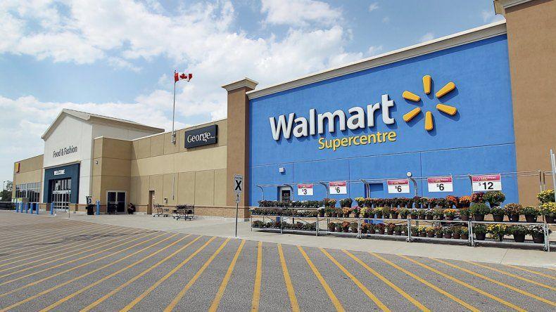 Una de las sucursales de Walmart en Canadá.