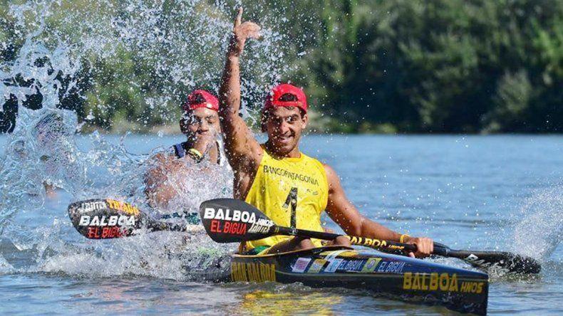 La dupla de El Biguá finalizó primera en la quinta etapa.