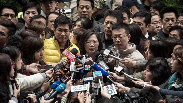 Por primera vez, Taiwán tendrá una mujer en la presidencia