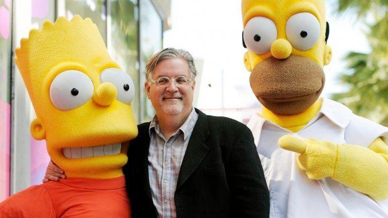 Matt Groening ya está trabajando en la nueva serie.