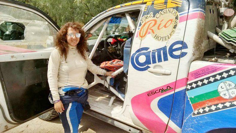 Fue la reina del Dakar por su perseverancia y generosidad.