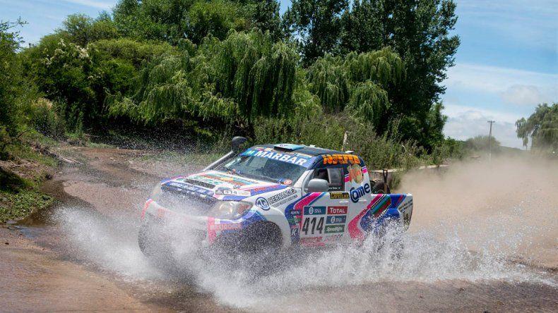 Su tercer Dakar. La primera experiencia fue en el 2014 y pudo terminar.