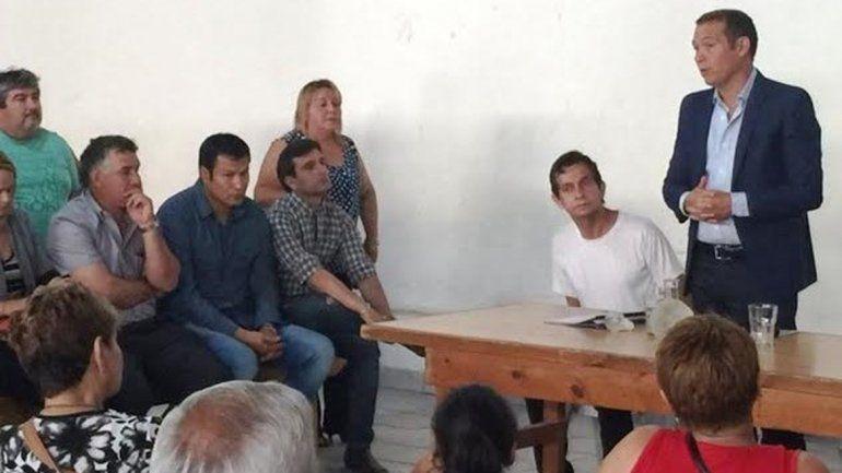 Gutiérrez visitó comisiones vecinales y recorrió obras en la ciudad