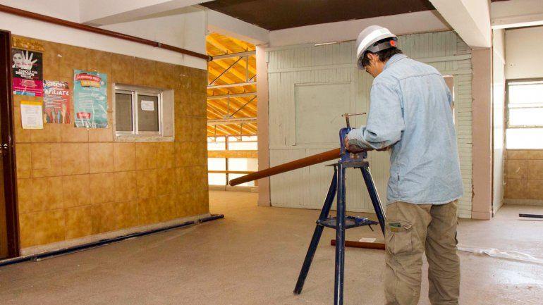 Las obras de refacción en Neuquén capital se iniciaron el 4 de este mes.