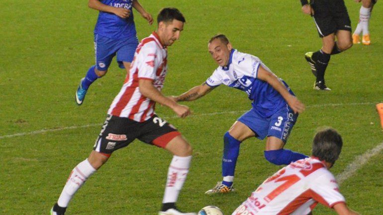Matías Castro con la camiseta de Unión en el 2015.