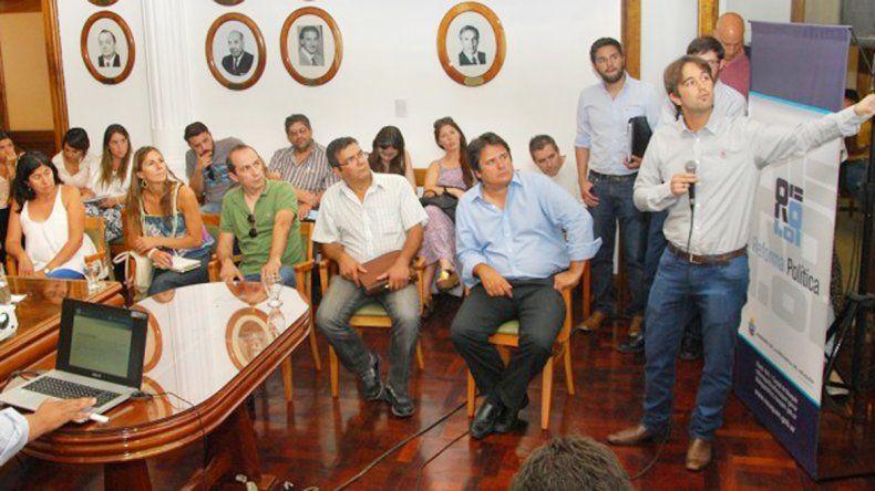 El sistema fue presentado en la segunda reunión por la Reforma Política.