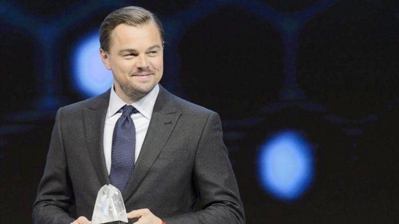 El actor fue ovacionado por líderes políticos tras su discurso.