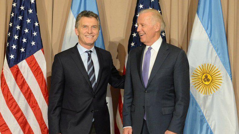 Macri se reunió con Cameron y con el vice de Obama