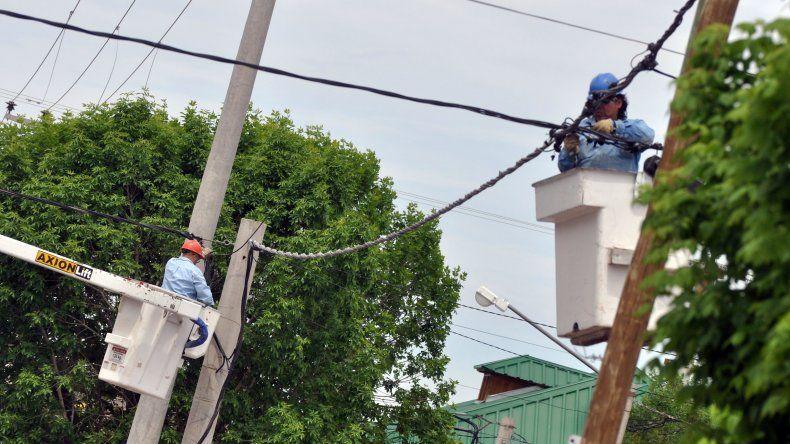 El inconveniente afecta a quince barrios de la ciudad.