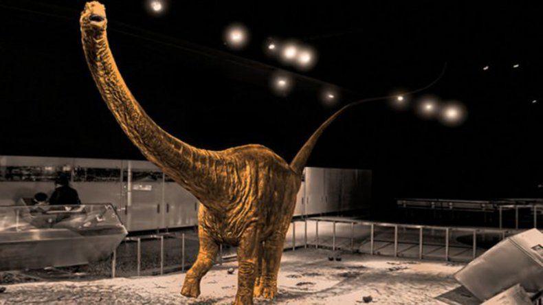 Descubrieron restos del dinosaurio más grande del mundo