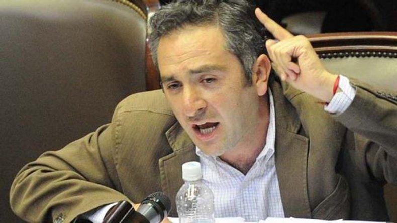 El diputado Andrés Larroque
