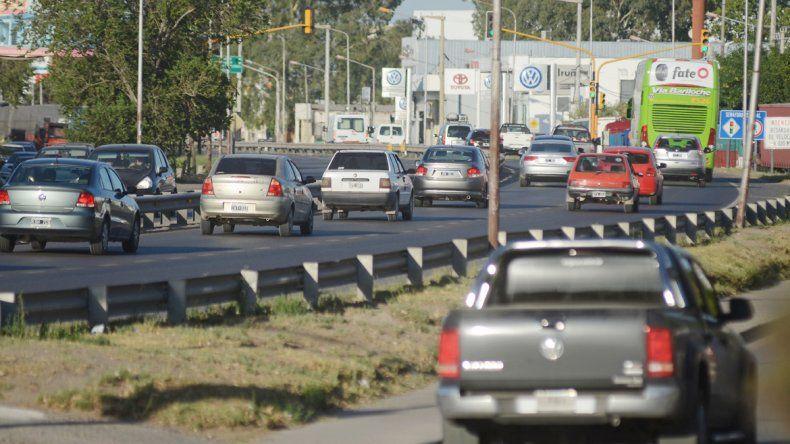 Por la multitrocha pasan por día más de 50 mil vehículos