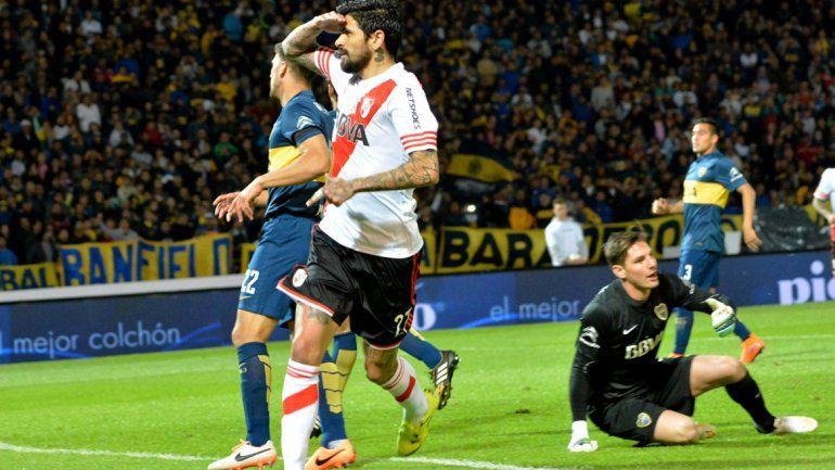 Lucho González será una de las apuestas del Muñeco para poder ganar la mitad del campo.