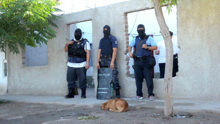 Detienen a abuelo que tenía un kiosquito de cocaína en el San Lorenzo