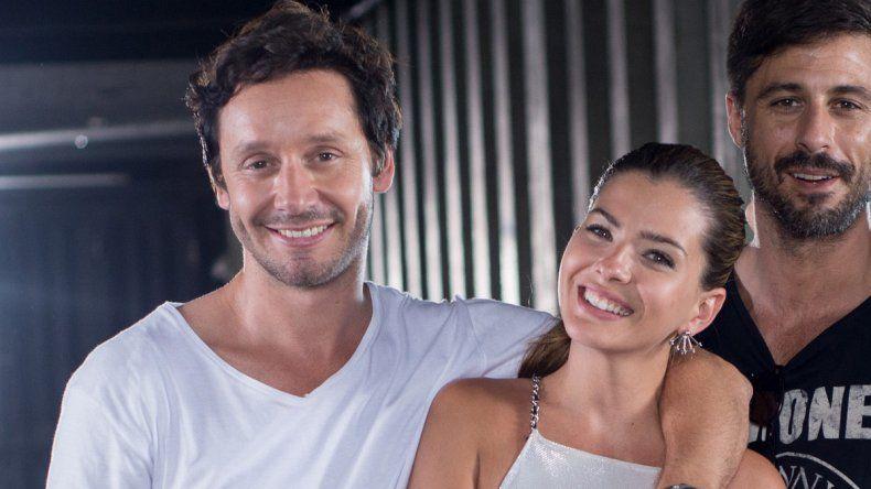 Suárez y Vicuña viajaron a Cartagena de Indias para terminar el rodaje de la película El hilo rojo.